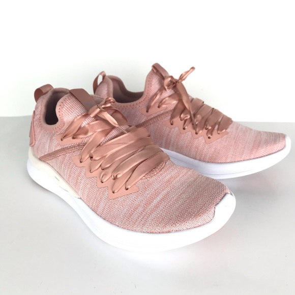 9bb64d9c6eb286 PUMA women s Ignite Flash Evoknit Satin Sneaker 7